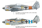 1/72 Weekend Edition Kit of Fw 190A-8 Univesal Wings
