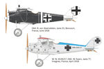 1/48 Weekend Edition Kit of German WWI Fighter Aircraft Pfalz D.IIIa