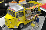 1/24 Citroen H Crepe Mobile with Figure by Ebbro