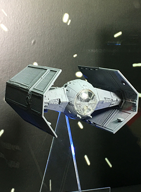 Star Wars New Series TIE Advanced by Takara Tomy