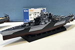 1/700 USS Battleship BB-43 Tennessee 1944