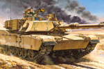 1/48 U.S. Main Battle Tank M1A2 Abrams