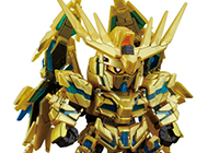 SD Gundam Cross Silhouette Unicorn Gundam 03 Phenex (Destoroy Mode) (Narrative Ver.)