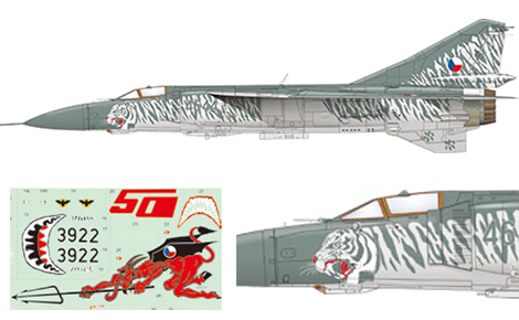 1/48 Bedna MiG-23MF/ML Limited Edition