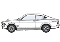 1/24 Mitsubishi Galant GTO 2000GSR Early Type