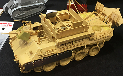 1/35 German Armored Recovery Vehicle Sd.Kfz.179 Bergepanther Ausf.A