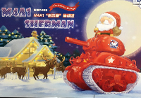 WWT M4A1 Sherman Christmas Edition