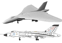 1/144 RAF Avro Vulcan B.2 with Blue Steel
