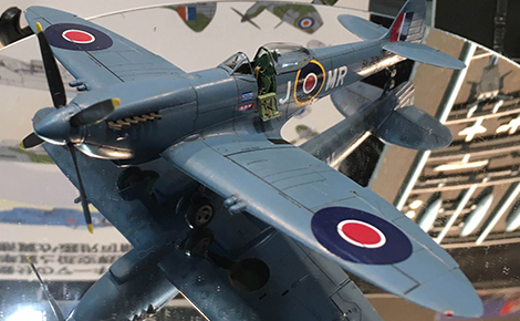 1/72 Spitfire Mk XVI Bubble Top