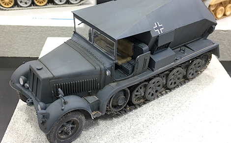 1/35 German Sdkfz.7/3 8t Half-Track V2 Rocket Control Car