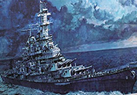 1/350 U.S. Navy Battleship Missouri (BB-63) Easy Version