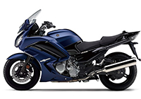 1/12YAMAHA FJR1300A Matte Dark Purple Blue Metallic 1