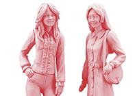 1/24 70s Girls Figure