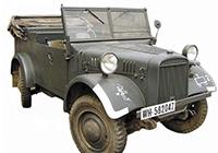 1/35 le.gl.Einheits-Pkw Kfz.2 WWII German Light Radio Communication Car