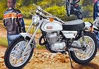 1/8 Yamaha 250 DT 1