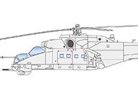 1/72 Mi-24V/VP Hind E