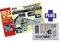 1/72 Full Action Focke-Wulf Fw190A + Detail Up Parts