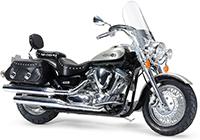 1/12 Yamaha XV1600 Road Star Custom