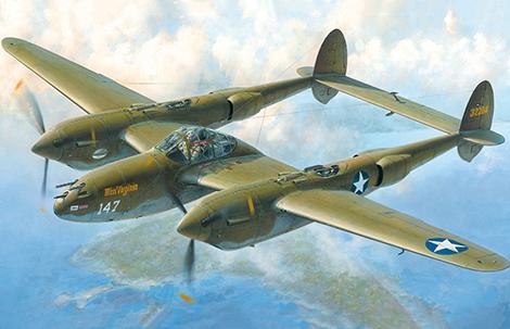 1/48 Lockheed P-38 F/G Lightning