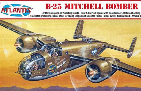 1/64 B-25 Mitchell Bomber Flying Dragon