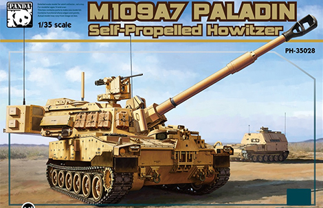 1/35 M109A7 Paladin w/Metal Track & Figure