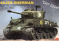 1/35 M4A3E8 Sherman Easy Eight w/Workable Track Links and Torsion Bars