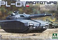 1/35 PL-01 Polish Light Tank Prototype