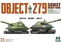 1/72 Soviet Heavy Tank Object 279 Object 279M + NBC Soldier + Object 279