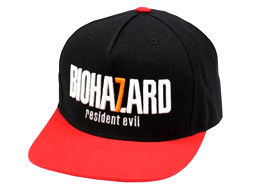 BIOHAZARD 7: Baseball Cap Black x Red