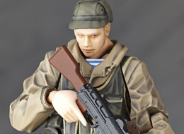 Revol Mini Metal Gear Solid TPP Soviet Soldier