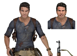 Uncharted 4A Thief's End: Nathan Drake Ultimate 7inch Action Figure