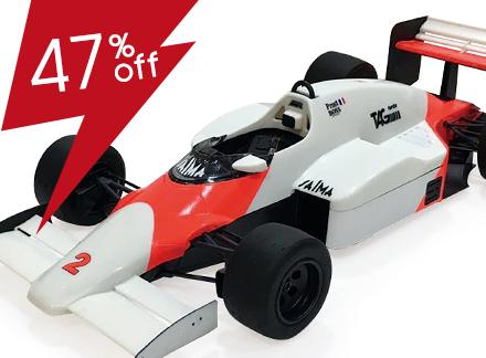 1/20 McLaren MP4/2B '85 Monaco GP Ver.