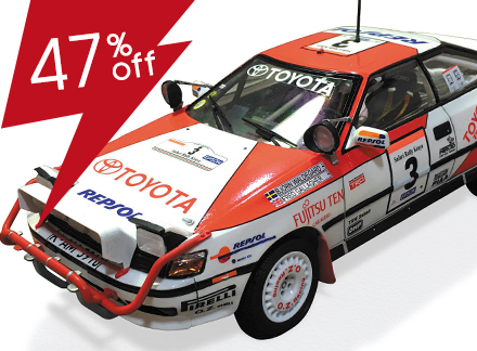 1/24 ST165 Celica GT-FOUR'90 Safari Rally