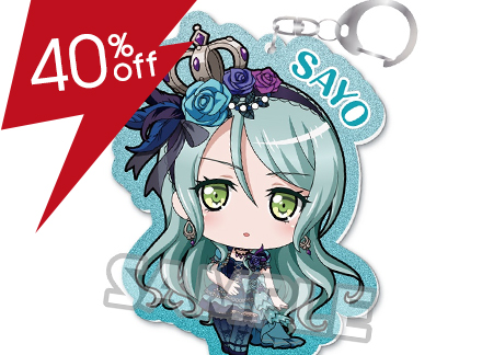 BanG Dream! Girls Band Party! Kiratto Acrylic Keychain Sayo Hikawa (Roselia)