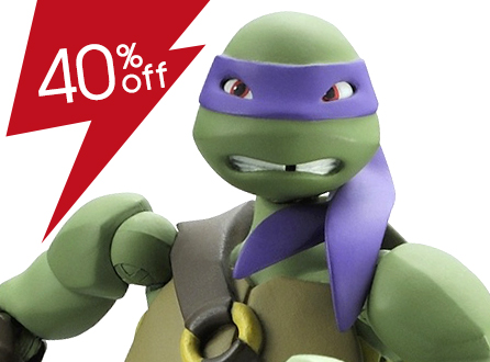 Revoltech Teenage Mutant Ninja Turtles Donatello