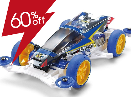 Thunder Dragon Clear Special (Polycarbonate Body) (Mini 4WD Limited)
