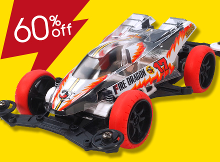 Fire Dragon Clear Special (Polycarbonate Body) (Mini 4WD Limited)