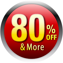 Over 80% Off
