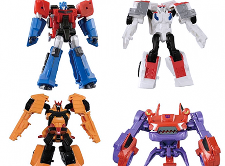 TAV49 EZ Collection Autobots vs Clampdown Set