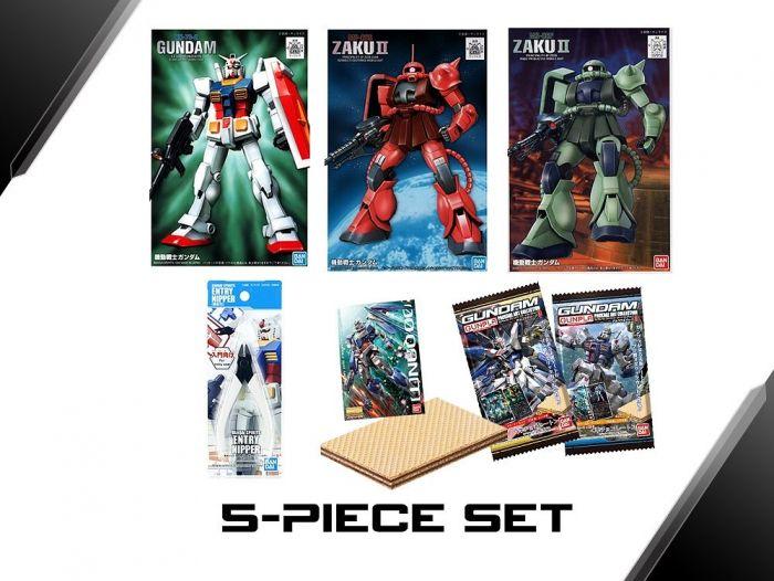 Gundam Beginner Set 04