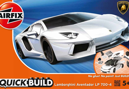 Quick Build: Lamborghini Aventador (White)