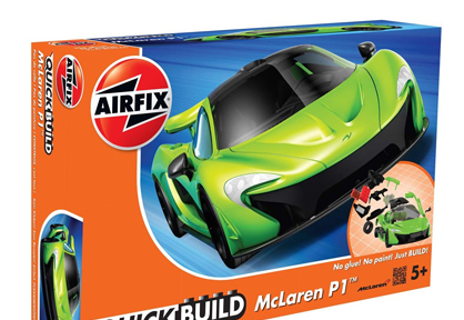 Quick Build: McLaren P1 (Green)
