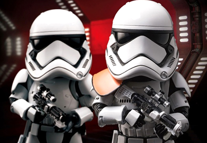 Egg Attack Action #007: First Order Stormtrooper (Star Wars: The Force Awakens)