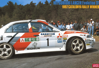 Mitsubishi Lancer Evolution IV 1997 Rally Catalunya Rally Winner