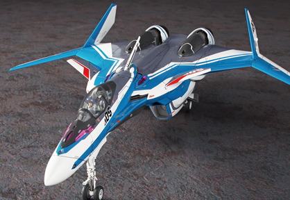 Vf-31J Siegfried Hayate Immelman Machine Macross Delta