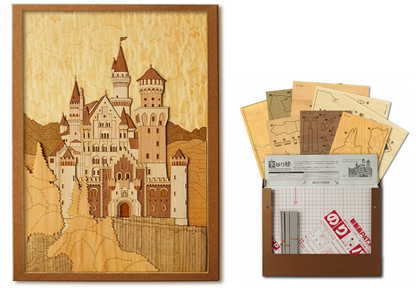 Wooden Collage Handmade Kits & Frames