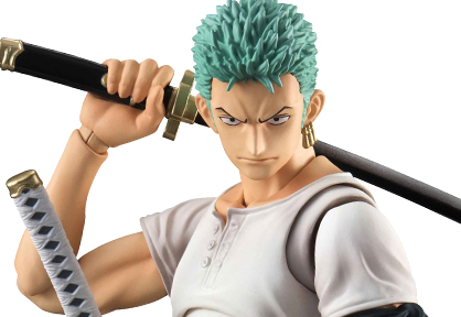 Variable Action Heroes: One Piece Roronoa Zoro Past Blue (First Release Limited Edition)