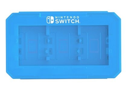 Nintendo Switch: Card Case 6 for Nintendo SWITCH Blue