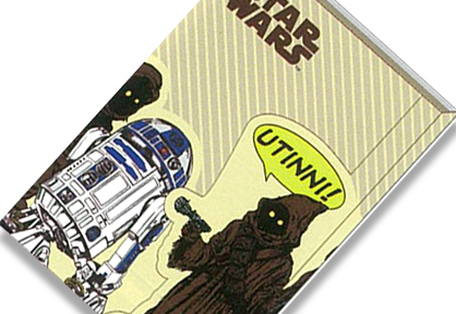 Star Wars: Notebook with Cover B6 Jawa