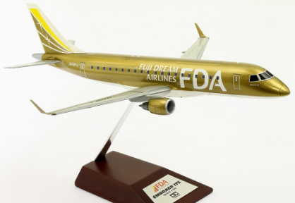 1/100 Fuji Dream Airlines Embraer 175 No.9